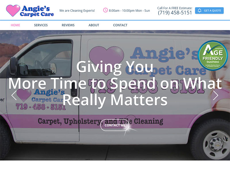 Angie's Carpet Care